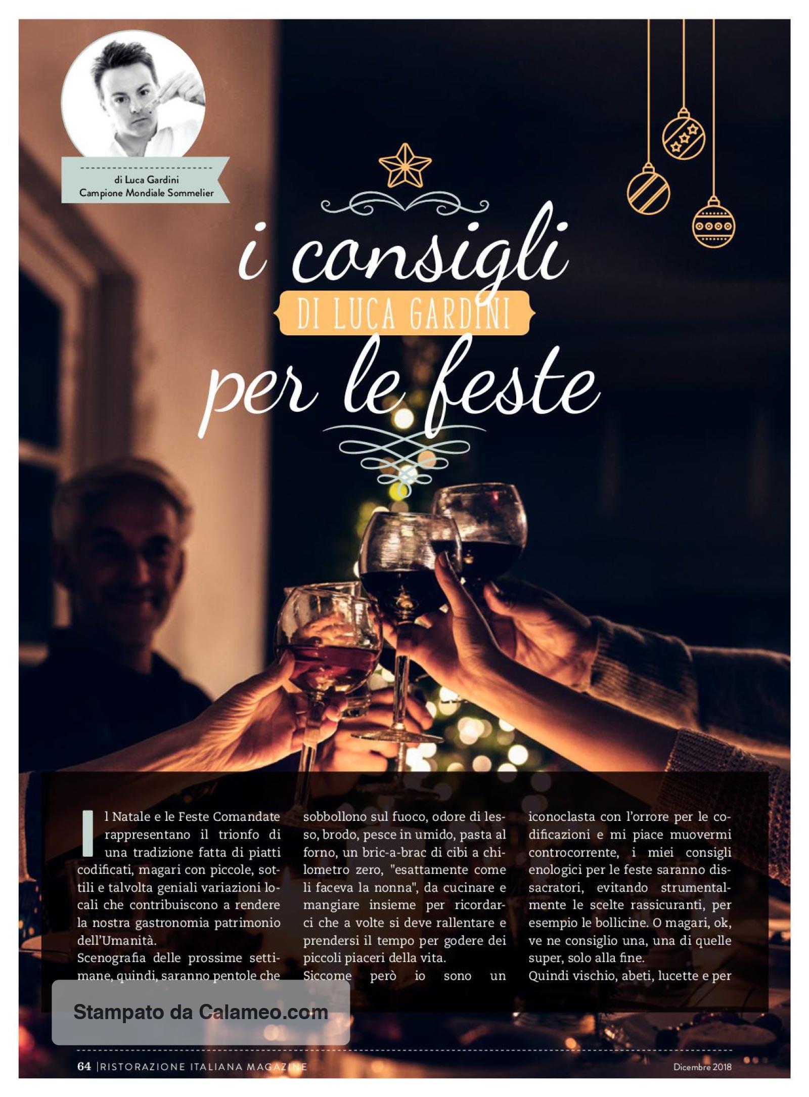 Tenuta di Fessina - Ristorazione Italiana - I Consigli per le feste