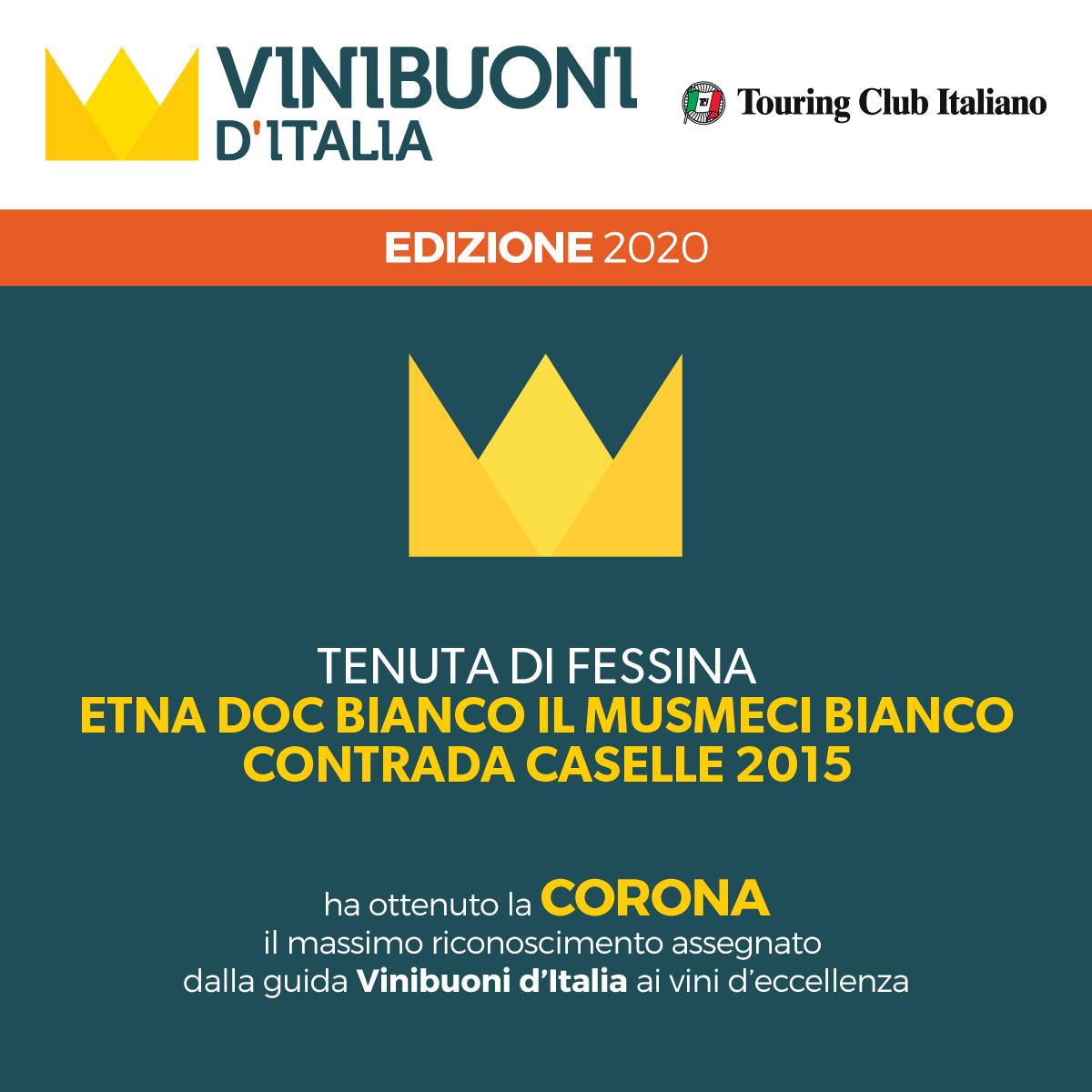 Corona Vini Buoni d'Italia 2019